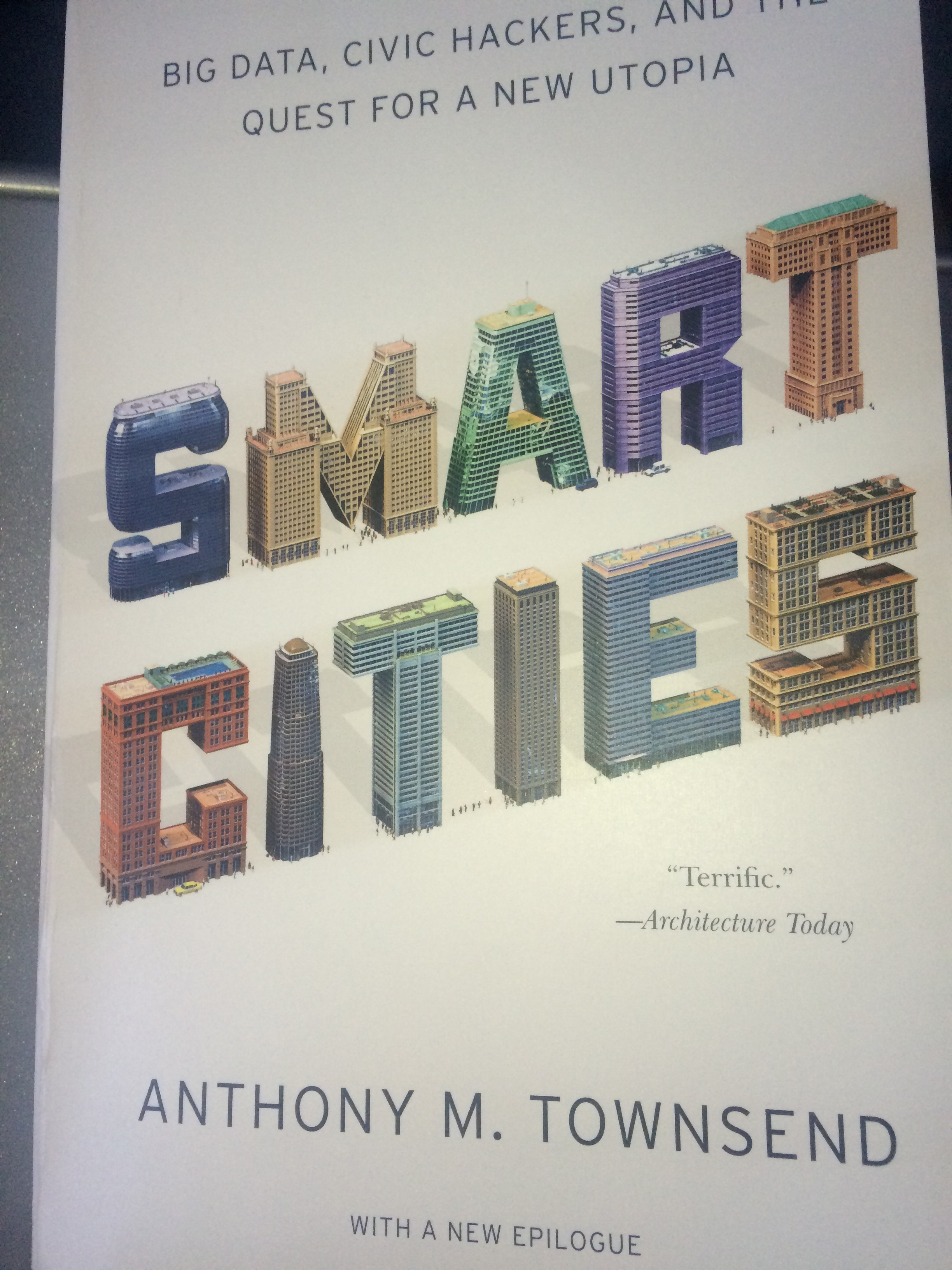 A. Townsend: Smart Cities cover